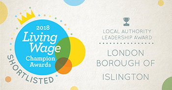 London living wage shortlist