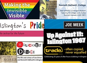 LGBTQ History Month 2021 exhibition image